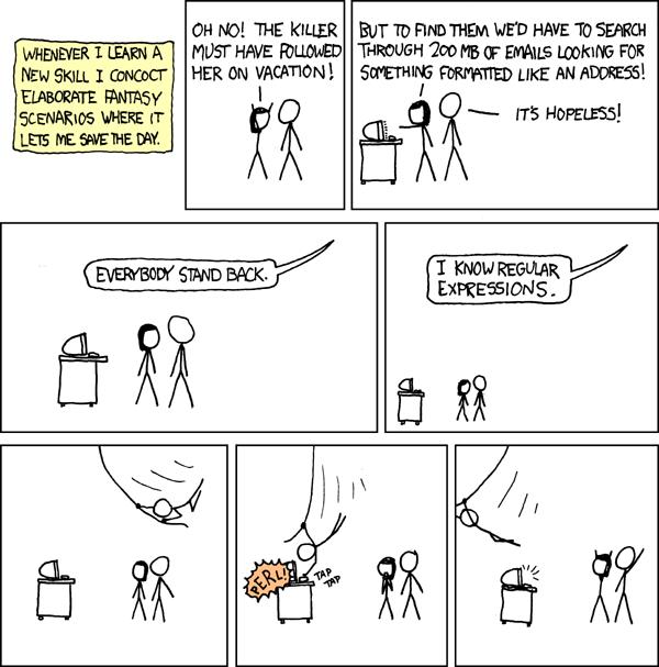 Sobre Expressões Regulares